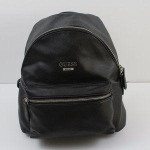 Guess Mini Backpack Purse Black